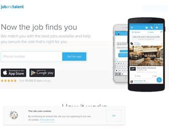 Thumbshot of Jobandtalent.com