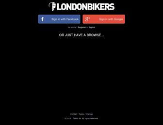 londonbikers.com screenshot