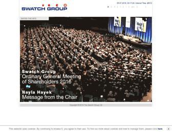 Thumbshot of Swatchgroup.com