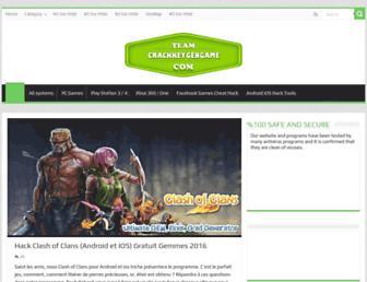Thumbshot of Crackkeygengame.com