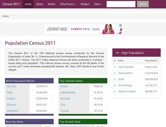 Thumbshot of Census2011.co.in