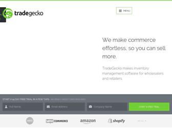 tradegecko.com screenshot