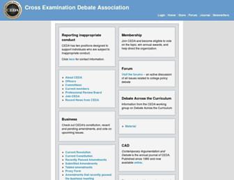 cedadebate.org screenshot