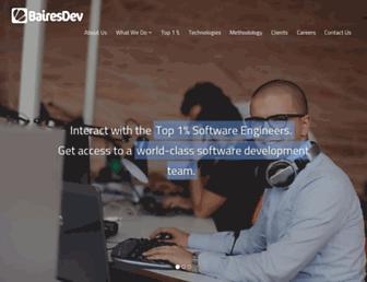 bairesdev.com screenshot