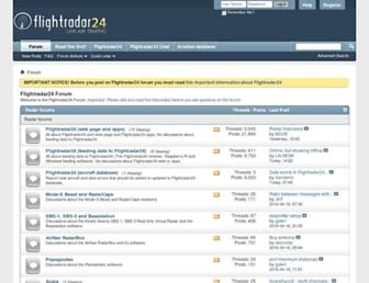 forum.flightradar24.com screenshot