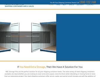 abcstorage.com.au screenshot