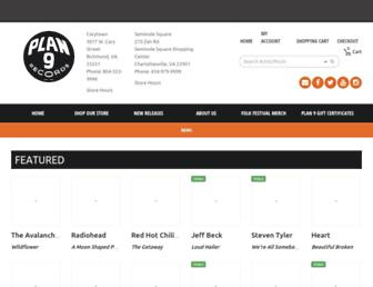 plan9music.com screenshot