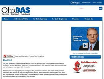 das.ohio.gov screenshot