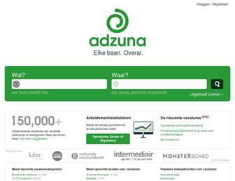 adzuna.nl screenshot