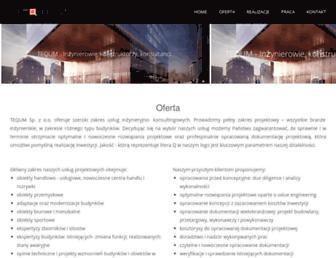 tequm.pl screenshot