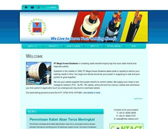 mke-cables.com screenshot
