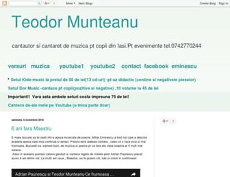 teodormunteanu.blogspot.com screenshot