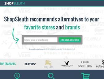 Thumbshot of Shopsleuth.com