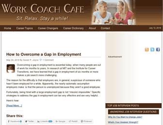 Thumbshot of Workcoachcafe.com