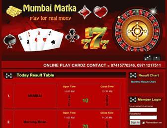 mumbaimatka.net screenshot