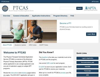 Thumbshot of Ptcas.org