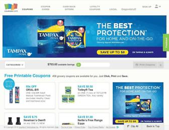 Thumbshot of Coupons.com