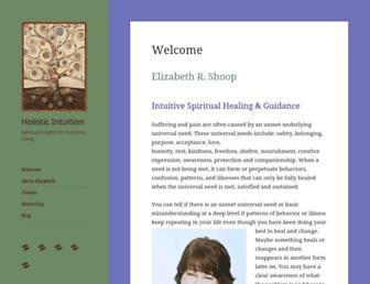 holistic-intuitive.com screenshot