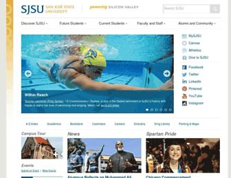 Thumbshot of Sjsu.edu