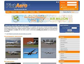 pictaero.com screenshot