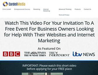 cardellmedia.com screenshot