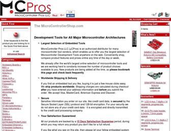 microcontrollershop.com screenshot