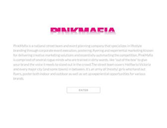 pinkmafia.ca screenshot