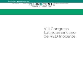 Main page screenshot of redinocente.org