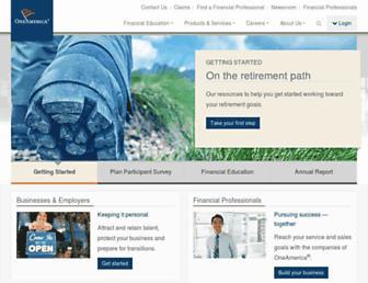 oneamerica.com screenshot