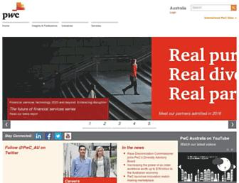pwc.com.au screenshot