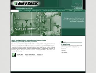 easternpiping.net screenshot
