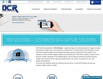 ocrsolutions.com screenshot