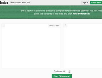 Thumbshot of Diffchecker.com