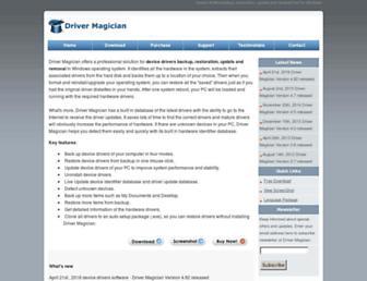 drivermagician.com screenshot