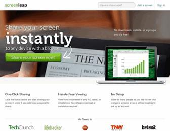 Thumbshot of Screenleap.com