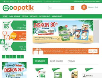 goapotik.com screenshot