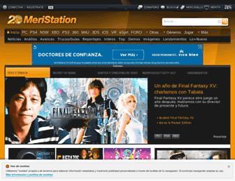 meristation.as.com screenshot