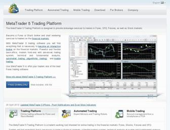 metatrader5.com screenshot