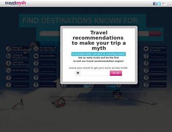 travelmyth.com screenshot
