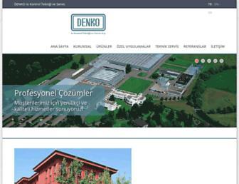 denko.com.tr screenshot