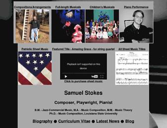 samuelstokesmusic.com screenshot