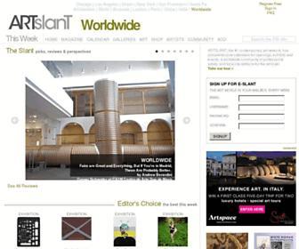 Thumbshot of Artslant.com