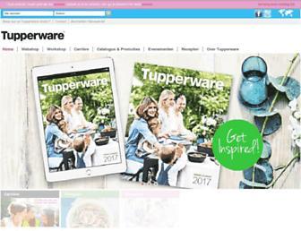 tupperware.nl screenshot