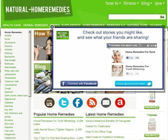 Thumbshot of Natural-homeremedies.com