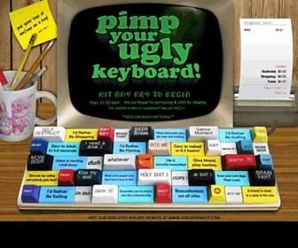 Thumbshot of Pimpmykeyboard.com
