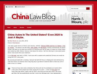 Thumbshot of Chinalawblog.com