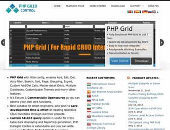 phpgrid.org screenshot