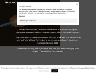 fernandoraymond.com screenshot