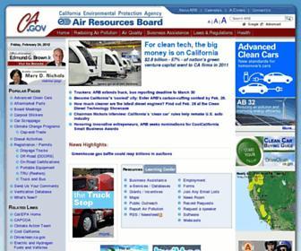 arb.ca.gov screenshot