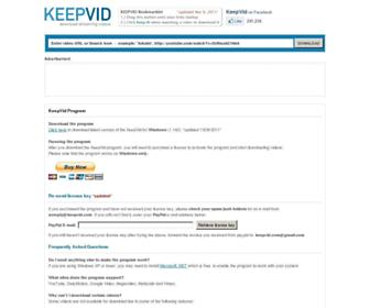 Thumbshot of Keepvid.com